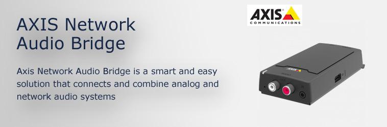 Axis C8003 Network Audio Bridge