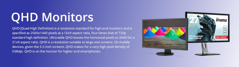 QHD Monitors