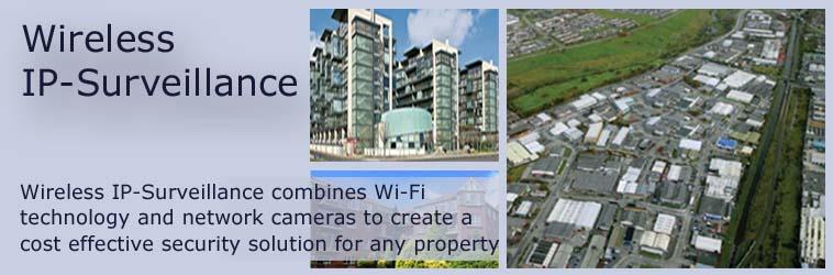 Wireless IP-Surveillance