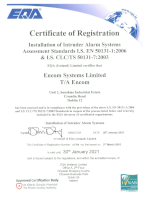 Click here to view Intruder Alarms EQA Certificate