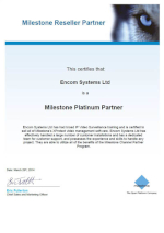 Milestone Awards for Encom