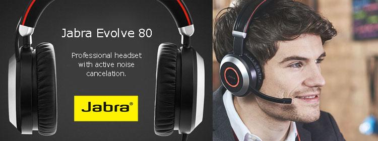 Jabra Headset Evolve 80 Encom Blog